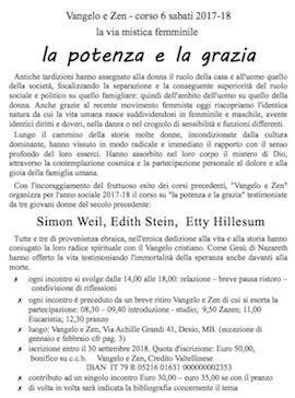 Corso 6 sabati 2017-2018