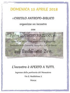 Circolo Andropico Biblico - Incontro con p.Luciano Mazzocchi